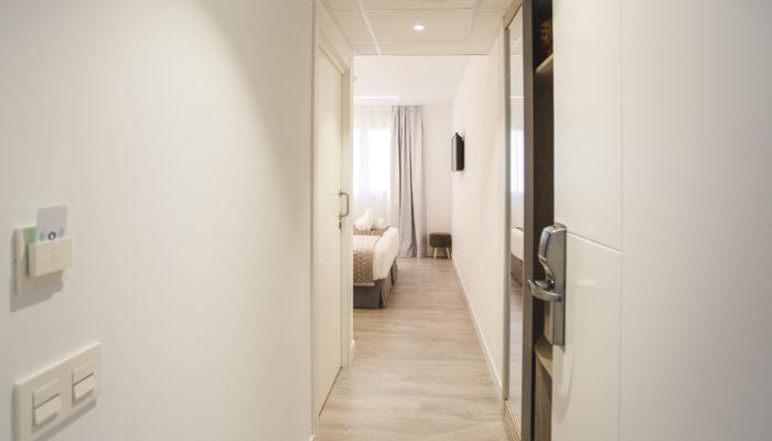 Habitación comunicada hotel en Soria