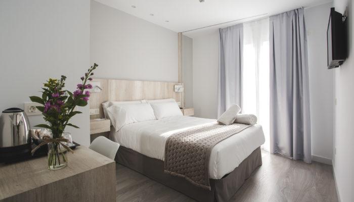 Habitación individual Hotel Ábaster en Soria