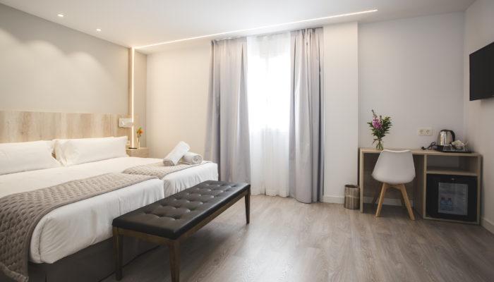 Habitación adaptada Hotel Ábaster en Soria