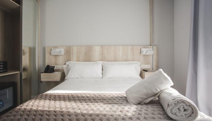 Habitación Hotel Ábaster en Soria