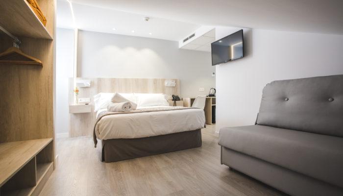 Habitación familiar en Soria