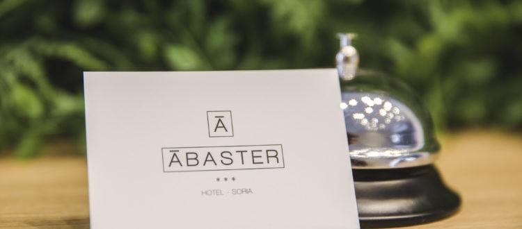 Bienvenida Hotel Ábaster en Soria