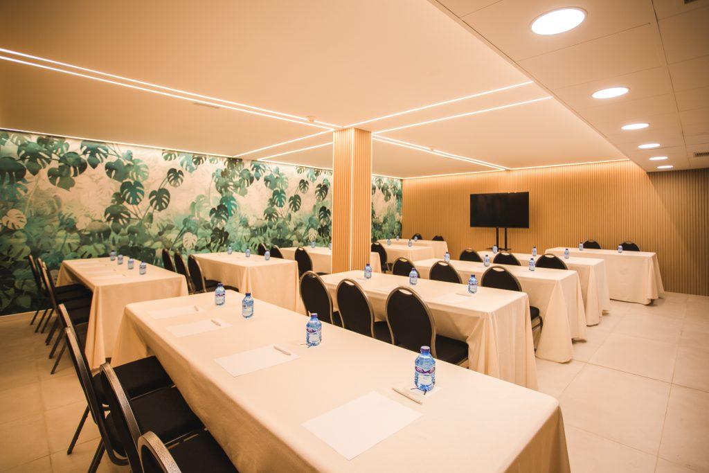 Sala para eventos en Hotel Ábaster en Soria 6