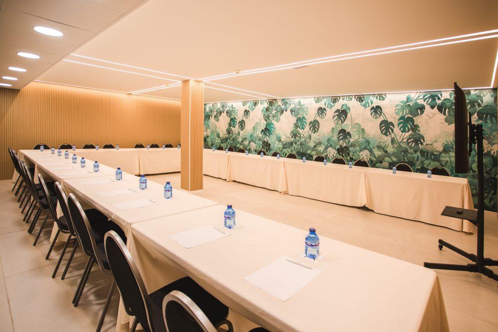 Sala para eventos en Hotel Ábaster en Soria 3