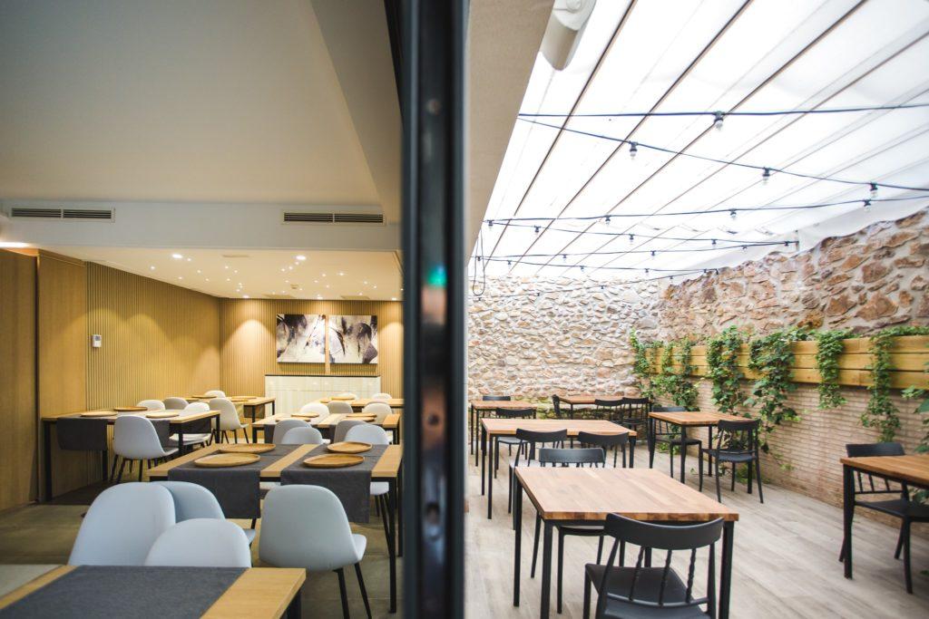 Restaurante Mena en Hotel Ábaster en Soria 7