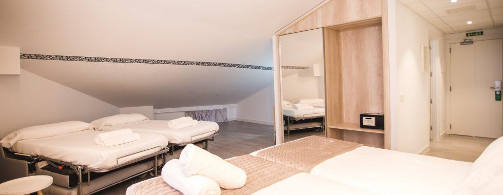 Habitación cuádruple en Soria